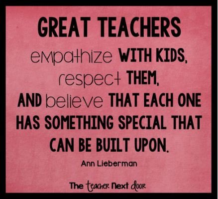 Make every child know they are special, be genuine, respect them and give more than you get!   Believe in them  #bfc530 <br>http://pic.twitter.com/KIIyVfbdLa