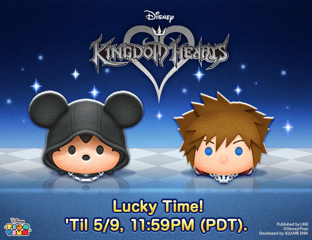 King Mickey and KH3 Sora from KINGDOM HEARTS are here! #TsumTsum https://lin.ee/iHbTW4n/wots/tw/DisneyTsumTsum…