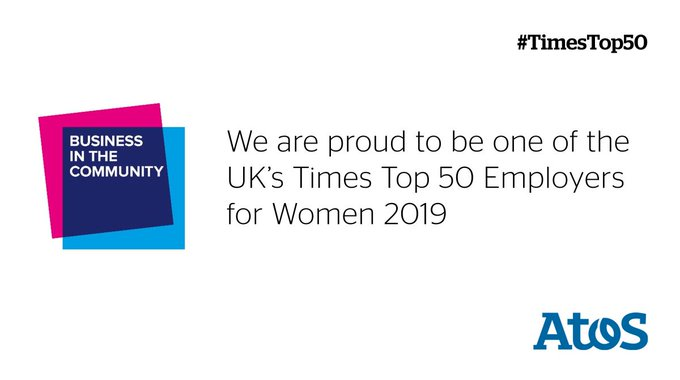 Delighted to be recognised by gender equality experts at Business in the Community @BITC...
