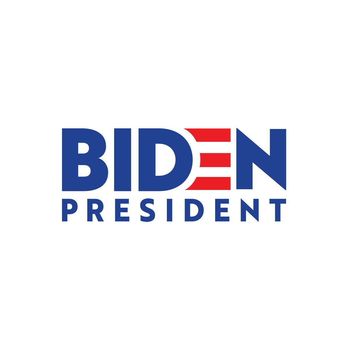 Center For American Politics And Design On Twitter Former Vice President Joebiden Officially Launches His 2020 Democratic Presidential Campaign His Logo Uses Traditional Red And Blue Colors Stripes Bold Last Name Emphasis