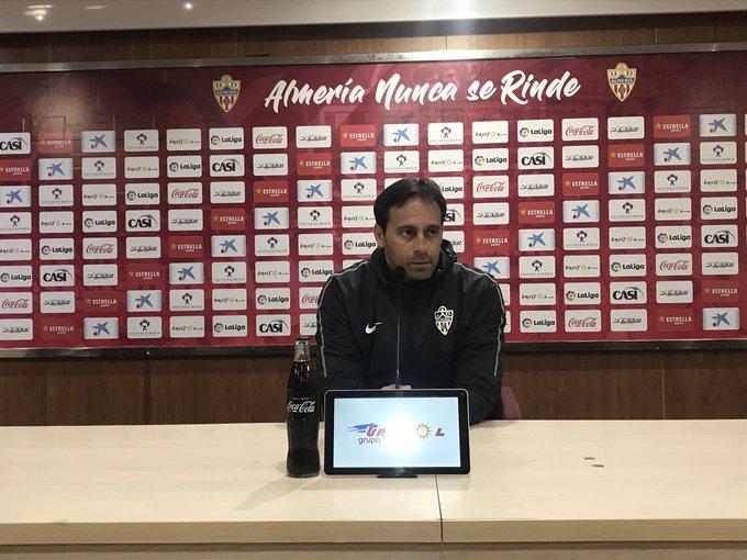 Fran Fernández, en sala de prensa (Foto: UDA).