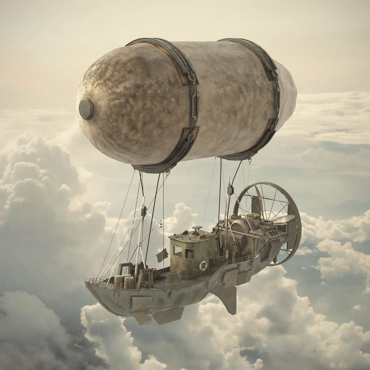 'Fly boat' by Arnaud Bellour ( I think this look like a lavatory cistern) sorry you Steam Punk purists!