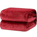 Image for the Tweet beginning: Bedsure Flannel Blanket Plaid EU