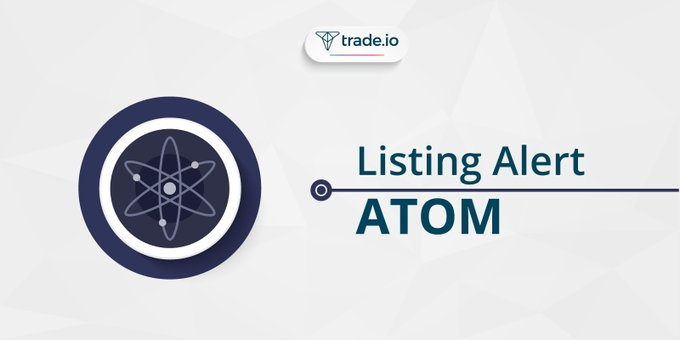 With @cosmos  (ATOM) No deposit fees No maker fees Minimal withdrawal fee Just 0.1% taker fee Trade $ATOM on @TradeToken  #crypto #steem @Oracle_D_com