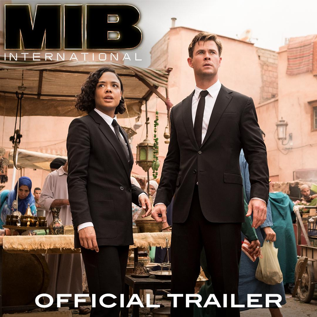 If everyone could just look right here… 🕶 Watch the new trailer for #MIBInternational, in cinemas June.