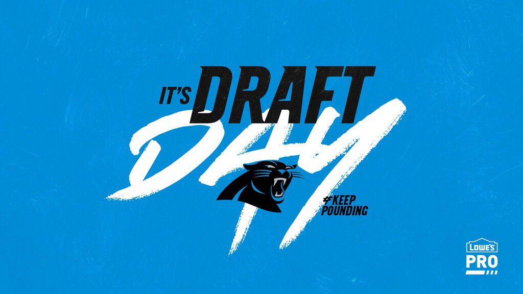You know what day it is‼️ #PanthersDraft