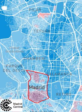 Dentro de la M-30 se vota mayoritariamente al PP... salvo en el Gueto de Varsovia que se vota a Podemos