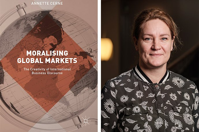 📣 Language has an important role in how we understand morals in markets & markets' role in a moral society. 🌍 This is according to researcher Annette Cerne, who studies global companies & their suppliers' various communication strategies. 📖 Long read: http://bit.ly/global-moral