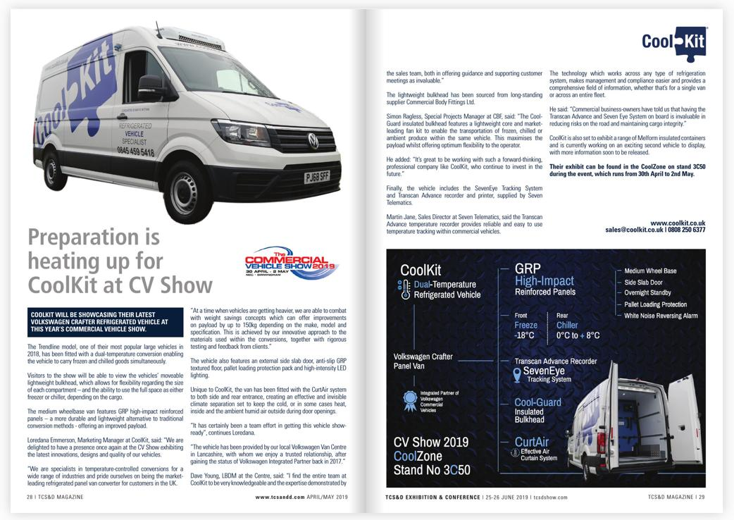 f47fbbcc84 Preparations are well underway now for  TheCVShow later this month. Read  the latest issue of the  TCSandD to find out more     https   lnkd.in dkcdwT4 ...