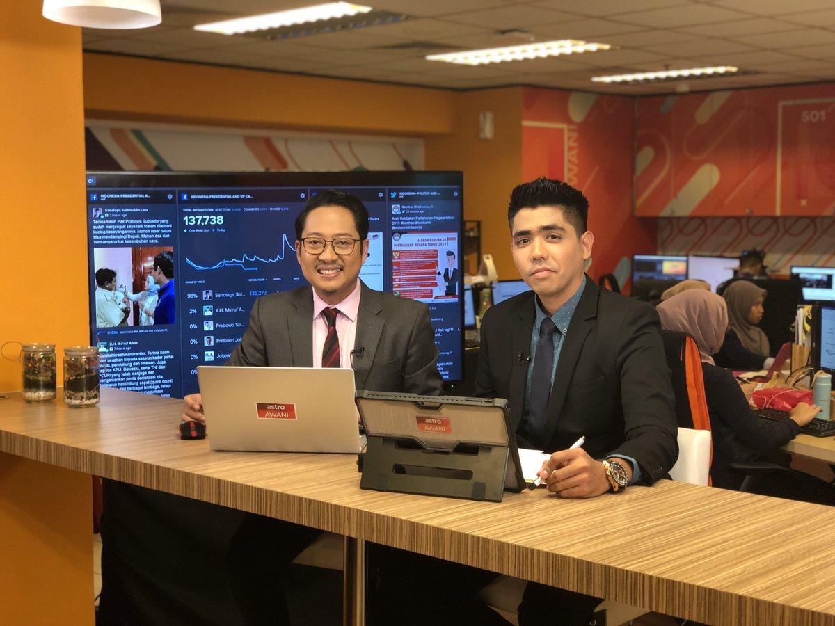 Saksikan sekarang Buletin AWANI Khas, Pelancaran 5G Malaysia: Progressing Humanity Program di 501 Astro AWANI & astroawani.com/live-tv bersama @hillmie93 dan @EssanYahya sekarang!