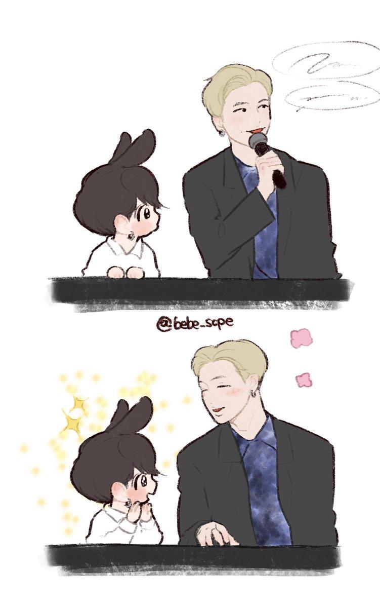 JK loves rapmoni hyung