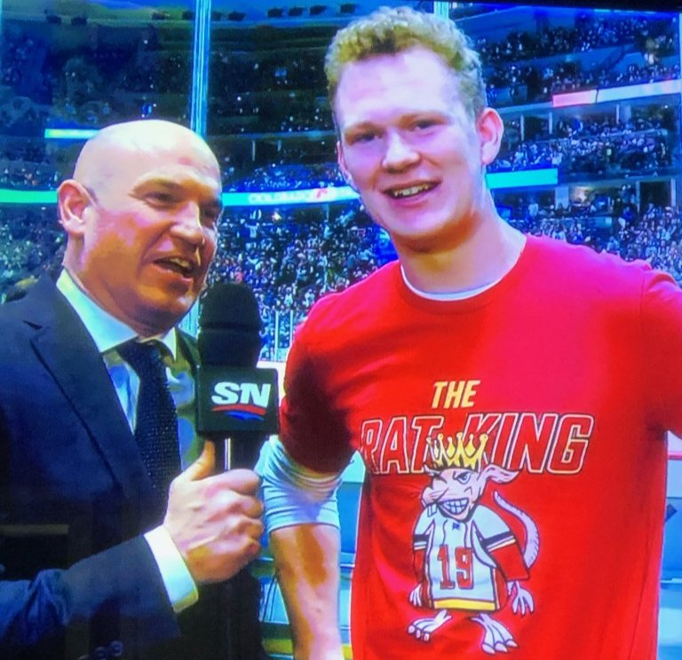 Brady Tkachuk is a legend. <br>http://pic.twitter.com/WeML8A4MoM
