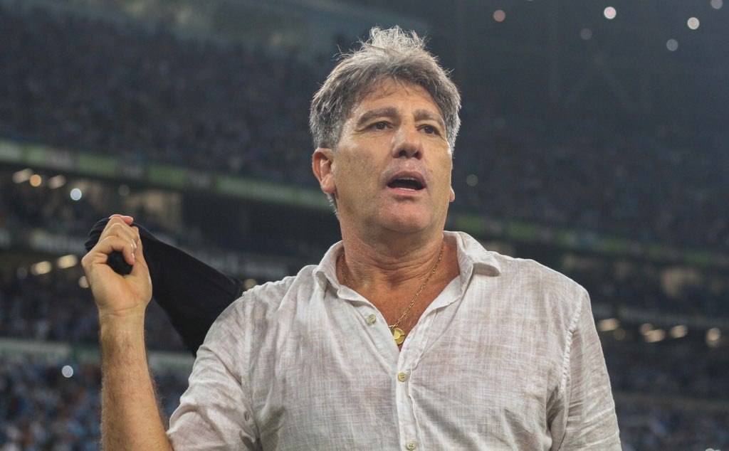 Soccer News Grêmio's photo on Renato Gaúcho