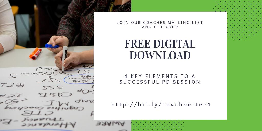 #CoachBetter by joining our mailing list for coaches PLUS get our 4 key elements for a successful #profdev session!    #EduroLearning #COETAIL #educoach #educoachoc #isedcoach #edchat #edtech #asiaed #africaed #edchatmena #edchateu #instructionalcoach  https://bit.ly/coachbetter4