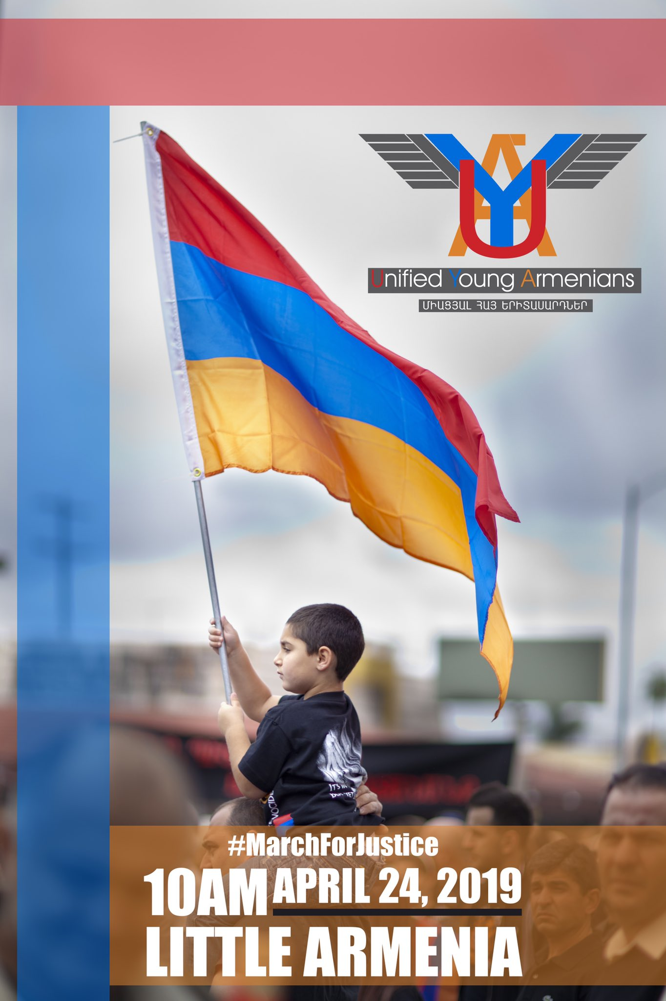 Armenian Genocide March Flyer 2019