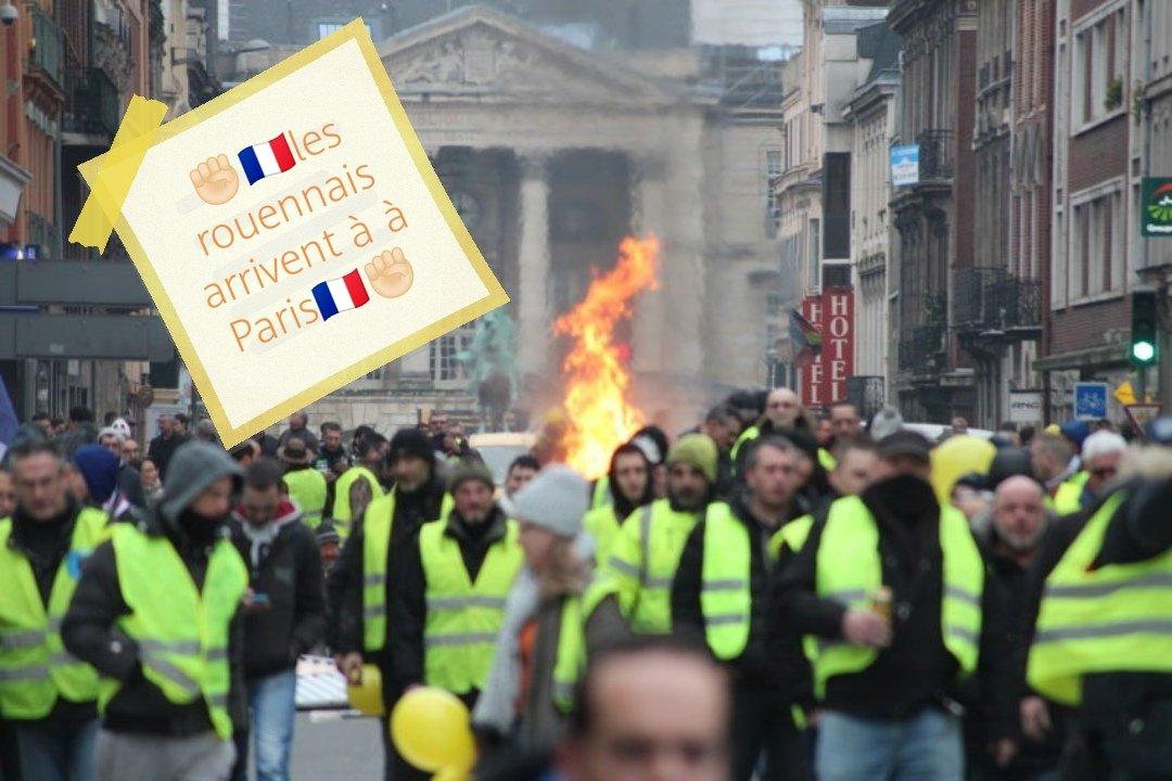 🇫🇷⭐️GiletsJauneRouen⭐️🇫🇷's photo on #NotreDame
