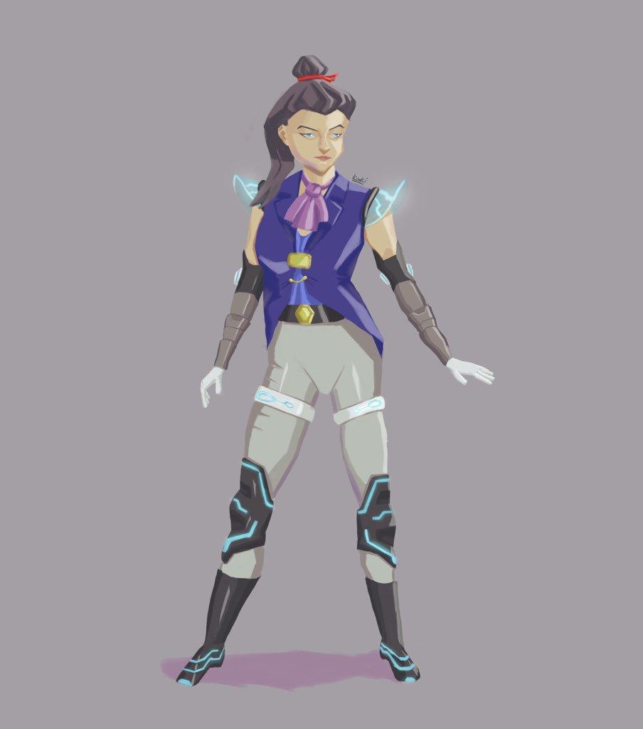 Female Victorian Sci-fi Char Design  #illustration #artistoninstagram #artistontwitter #イラスト #anime #fantasy #videogameart #gameart #comicart #characterdesign #female #victorian #scifi  #stylized