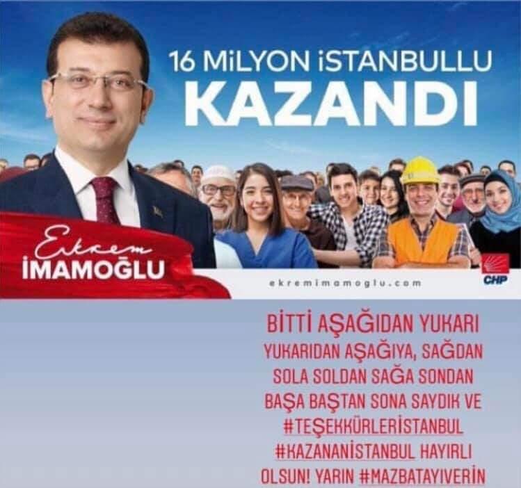 #Ekramİmamoğlubaskan