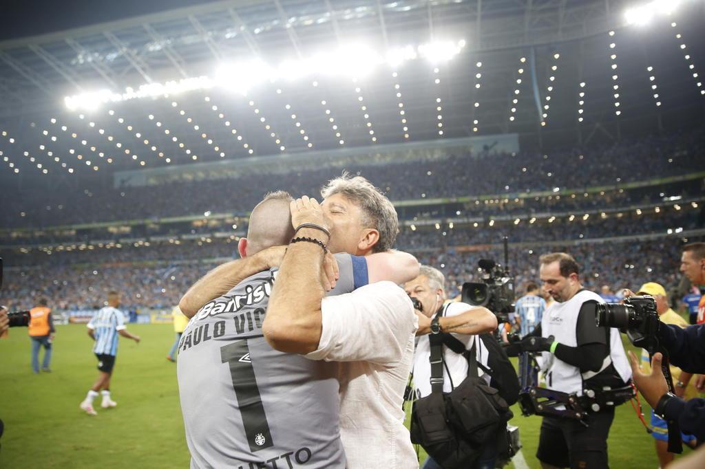 Soccer News Grêmio's photo on Renato Portaluppi
