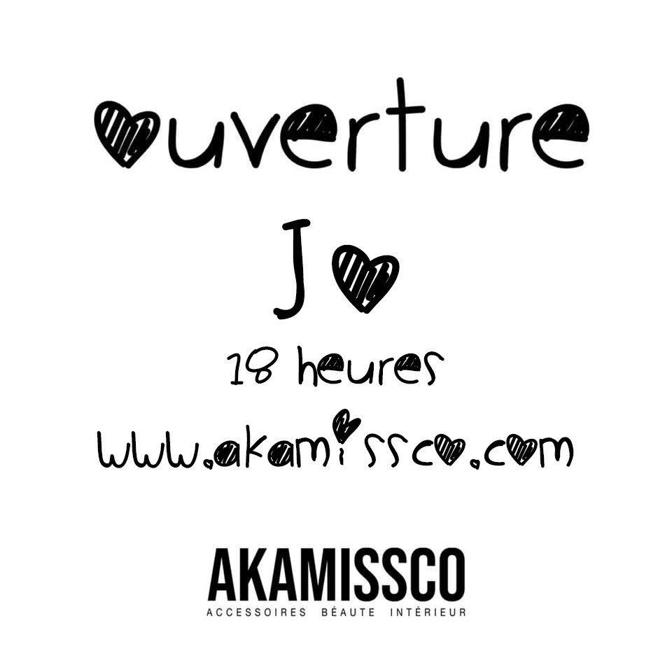Jour - J 🎊 Ouverture de mon e-shop à 18h, heure de Paris akamissco.com d'accessoires de mode, des produits de beauté et des produits d'intérieur d'inspiration caribéenne pour le marché national et l'Europe. Abonnez-vous à @akamissco sur #Instagram pour nous suivre 🤗