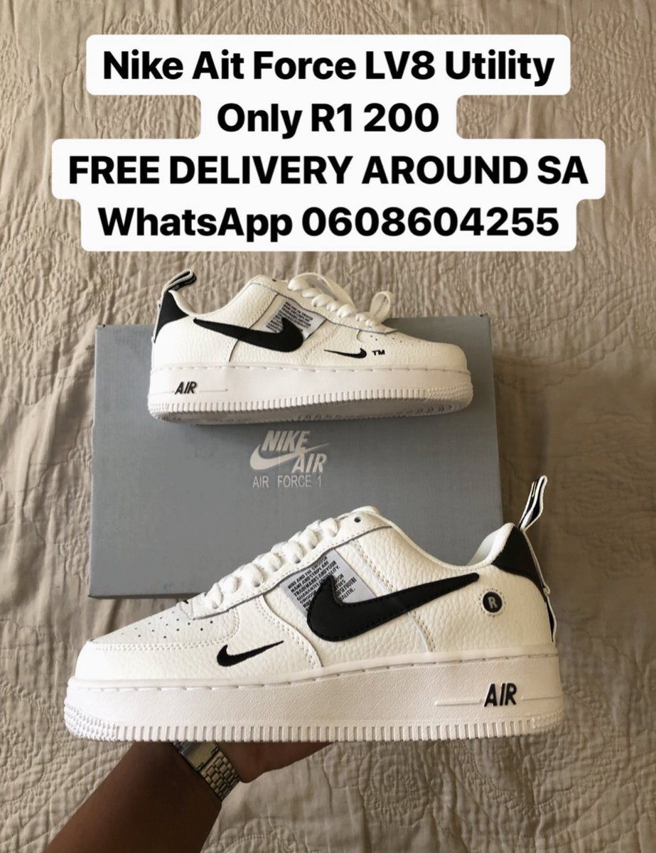 online retailer 62b6f cb9fc Nike AirForce- LV8 Utility Only R1 200 FREE DELIVERY AROUND SA WhatsApp  0608604255  Nike