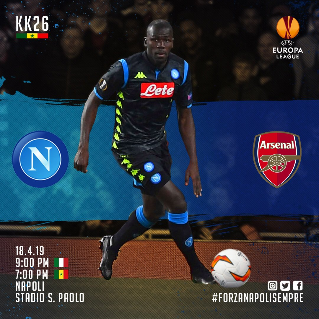 Koulibaly Kalidou's photo on #NapoliArsenal
