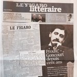 Image for the Tweet beginning: .@Le_Figaro littéraire consacre un petit