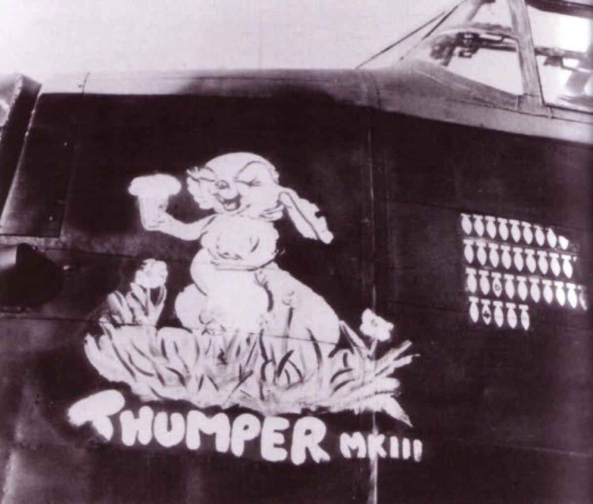 #Archive30 Day 18 #Love  Here&#39;s one of our previous posts for #ValentinesDay...  &#39;#Thumper Love&#39;  #HappyValentinesDay from #RAF #Metheringham #Aviation #Heritage in #Lincolnshire<br>http://pic.twitter.com/VzjUil1sy0