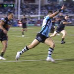 Sharks youngster Bronson Xerri goes 65m to score incredible first NRL try.https://t.co/hH7XewXjyF
