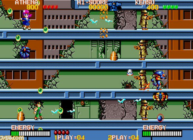 Arcade Archives - six titles announced, NeoGeo games paused for now