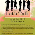 Image for the Tweet beginning: Let's Talk: 2nd Annual Community