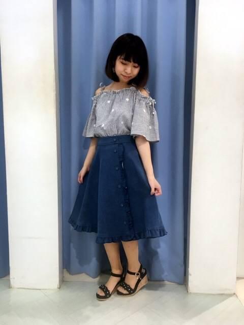 これからの季節にオススメのコーデ♡ http://snap.hana-bi.jp/front/detail/id/79145…