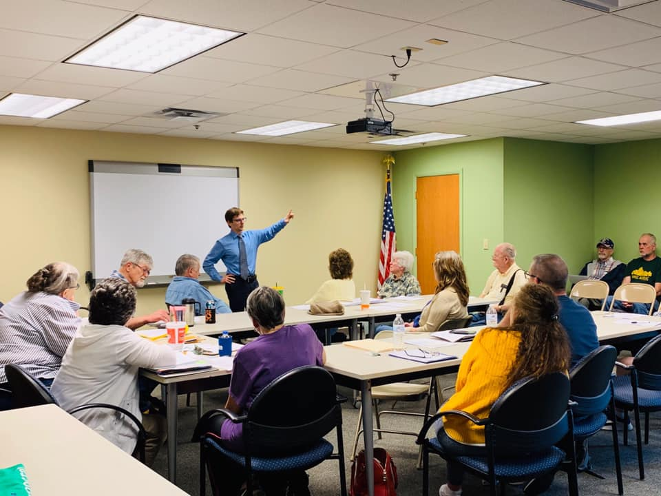 Benton County is on board!  We talked a lot last night about how we can fix our democracy by focusing on building community.   And at the end of our conversation, the members moved their club to support our campaign for Attorney General. I am incredibly honored.