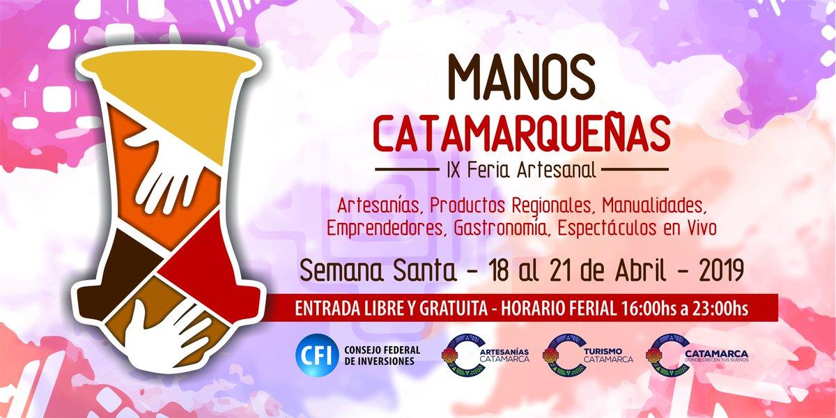 RT @casacatamarca: #BuenJueves  #SemanaSanta #Hoy  #Catamarca #Argentina #ManosCatamarqueñas https://t.co/2QaNeQAYWW