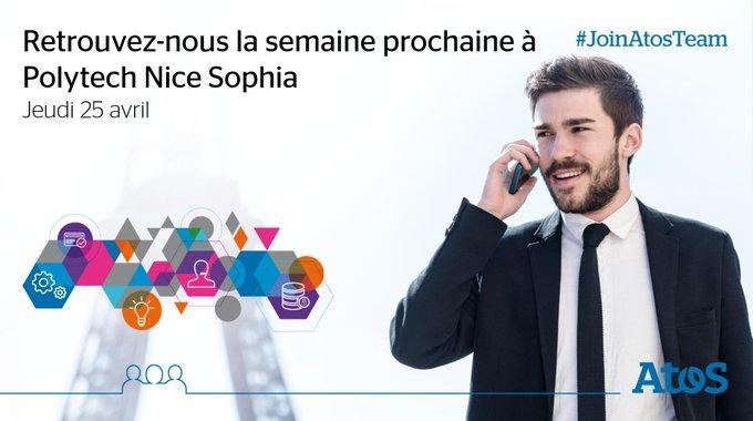 📅 Nous serons présents au #JobDating à Polytech #Nice Sophia le 25...