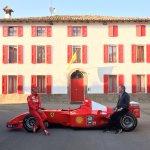 Not a bad setting for @MBrundleF1 interview with Sebastian Vettel... #SkyF1 @ScuderiaFerrari @SkySportsF1 @F1 #Seb5