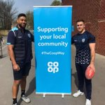 👥 @CAMKINGY, Makahesi Makatoa, Watson Boas and Thompson Teteh have joined @Fevcommunity at Ackworth Co-op this afternoon!➡️ Co-op members can choose the Foundation as their local cause: https://t.co/CH8wAxpIz0#TogetherAsOne