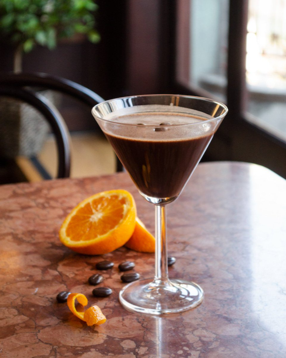 Introducing the Orange Chocolate Espresso Martini: because brunch is better with cocktails. #Bewleys #BewleysBest #BewleysGraftonStreet