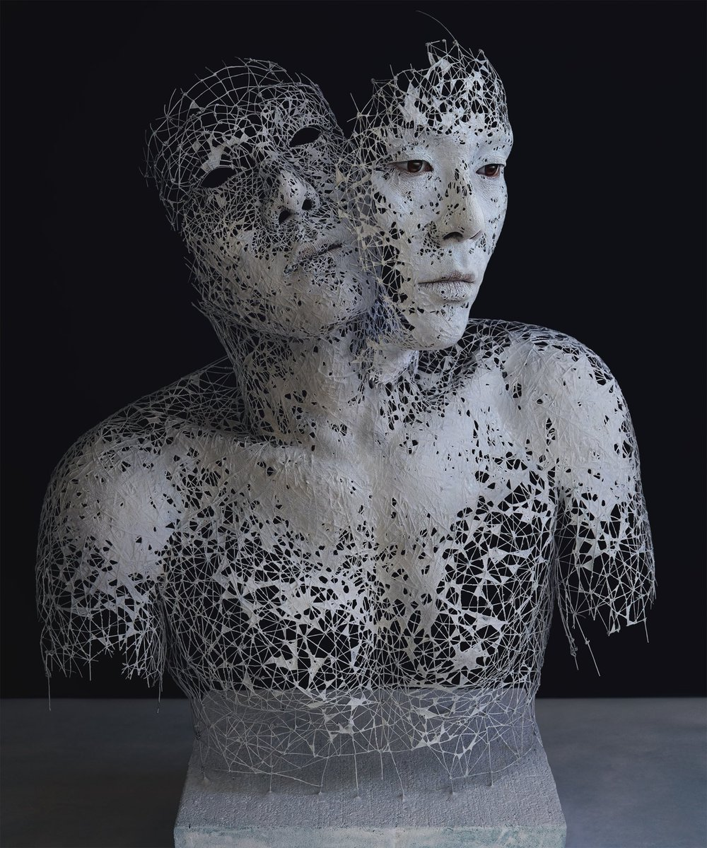 The artist Yuichi Ikehata combines #photography, #sculpture, and digital editing to create hybrid works that meld together reality and his own fictionalized interpretation.