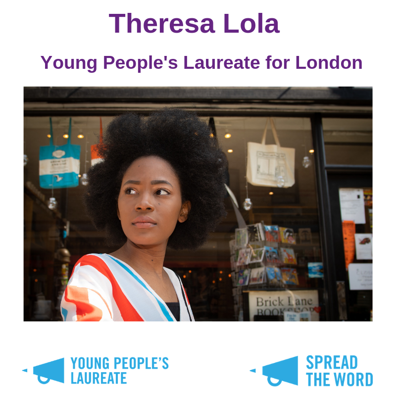 test Twitter Media - 🙏 MASSIVE CONGRATS to @PoetrySociety Member @theresa_lola - announced as the new Young Poet Laureate for London   https://t.co/usUvnXhuO0 https://t.co/pRY0K3keoq