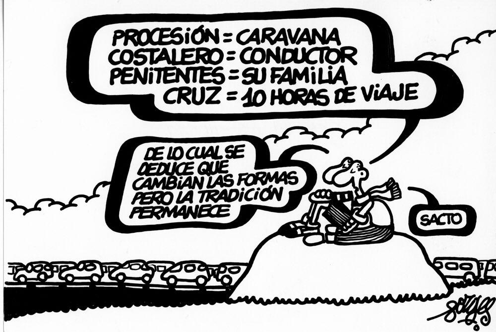 Viñeta publicada en 1989, en Diario16