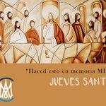 Image for the Tweet beginning: JUEVES SANTO Jesús nos recuerda que