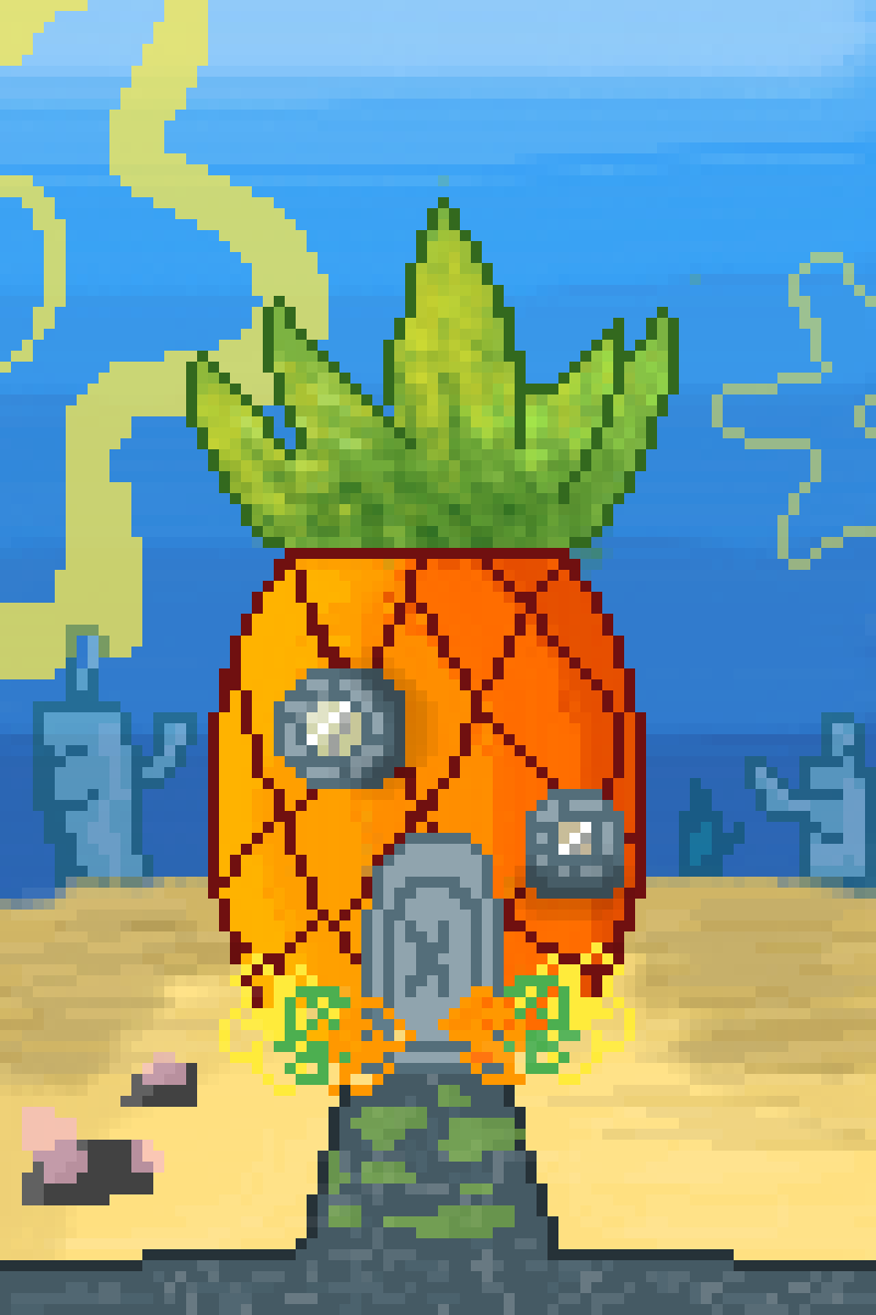 Pixilart On Twitter Pineapple By Mitsukisayori