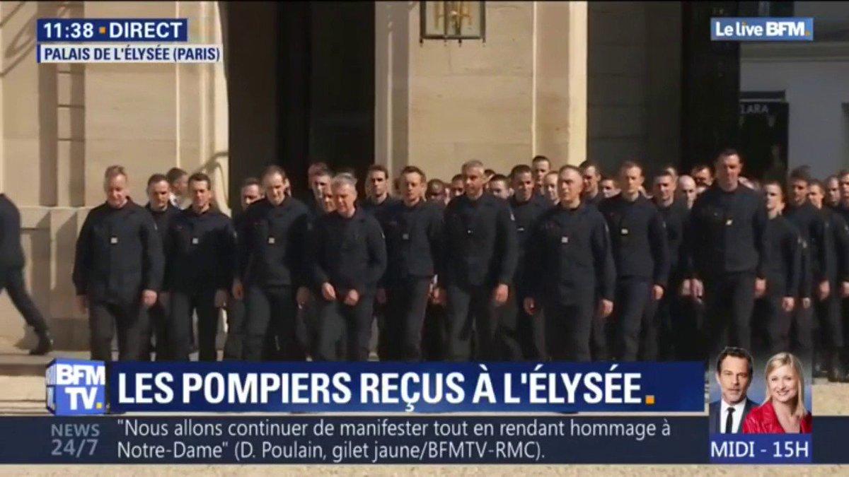 L'incendie de #NotreDame est une tragédie qui touche la France au cœur de son histoire et de sa culture.   C'est le pays tout entier qui est reconnaissant aux @PompiersParis qui ont sauvé la cathédrale faisant preuve d'un courage et d'une détermination exceptionnelle.