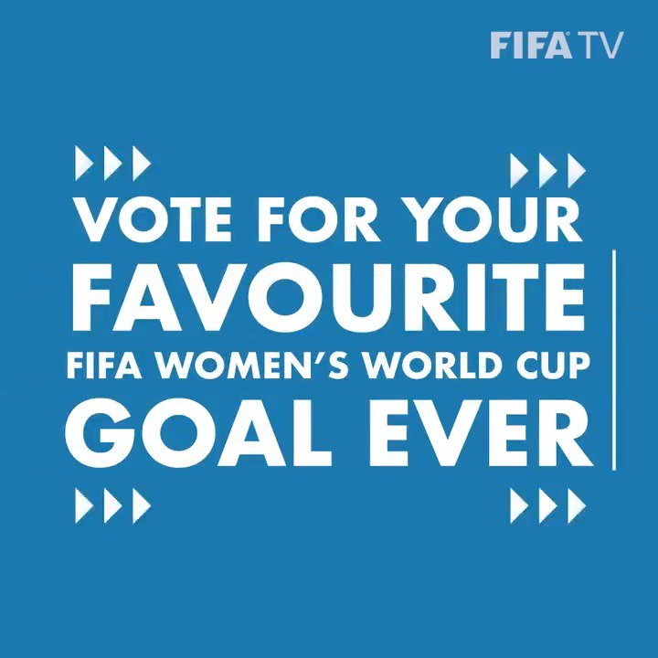 What is the #GreatestGoal in #FIFAWWC history? 🇸🇪 🇺🇸 🇧🇷 🇳🇴 🇲🇽 🇬🇭 🇯🇵 🇧🇷 🇨🇳 🇺🇸 VOTE 🗳 NOW 👉 http://fifa.to/GWsnZ7P4VV