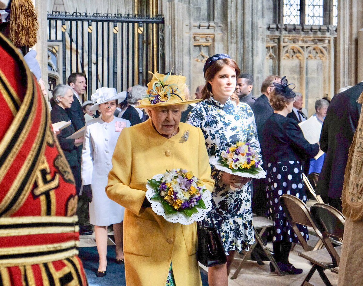 The Royal Family's photo on Princess Eugenie
