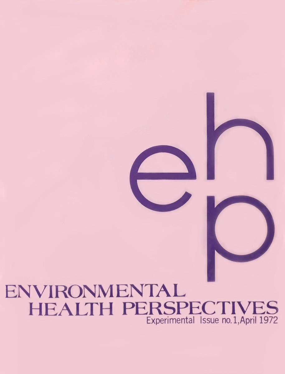 EHP began as an experiment in April 1972. The original incarnation of the journal was launched not long after the founding of @NIEHS and @EPA—and the occasion of the first #EarthDay. Read more of our story: https://ehp.niehs.nih.gov/about-ehp/history… #EarthDay2019