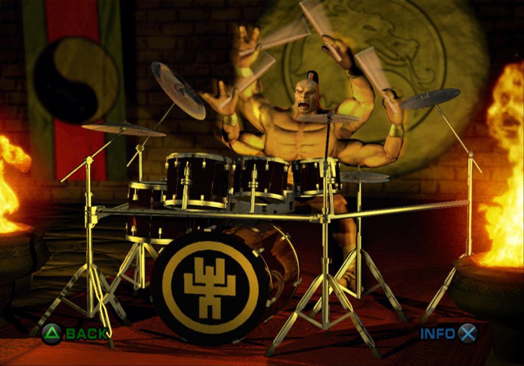 GORO ON THE KIT! 🤘🥁🎶  Do you remember the best f*cking drummer in the (Out)World? #tbt #ThrowbackThursday #mk5 #goro #shokan #nostalgia #mkdeadlyalliance #PS2 #videogameart #midway #bestdrummerinthefuckingworld #MK11 #MortalKombat