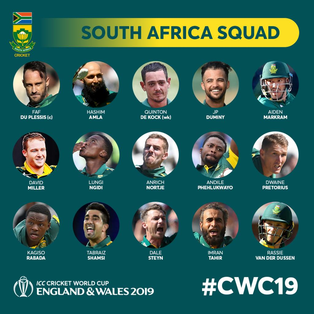 Cricket World Cup On Twitter Breaking South Africa