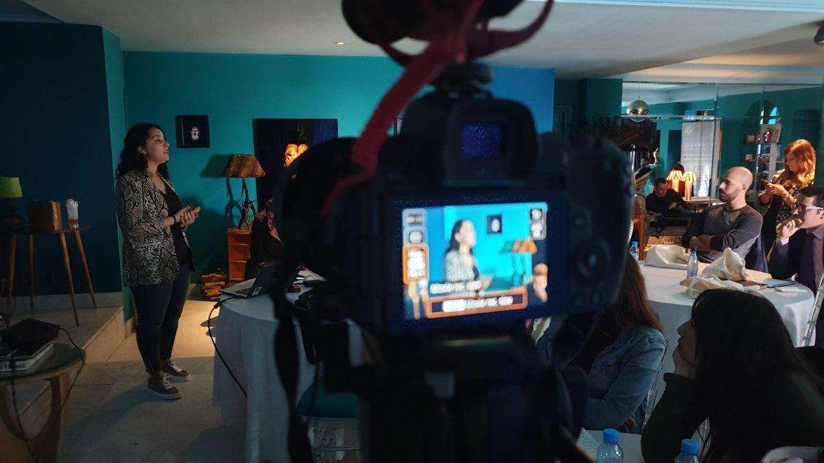 Dernière intervention de la journée faite par Mme Zoubeida Lahlou, responsable Digital Media chez Inwi. Elle suggère l'approche du Test & Learn : la pluralité des Médias, la définition des indicateurs en amont, et le contenu créatif permettent une meilleure atteinte des objectifs